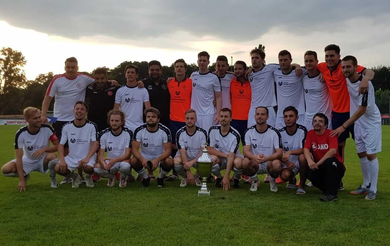 1.FC Langen gewinnt Sparkassen Cup 2018