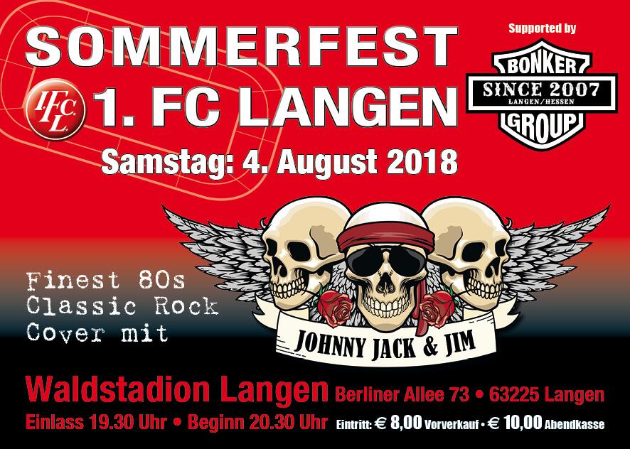 1. FC Langen Sommerfest 2018