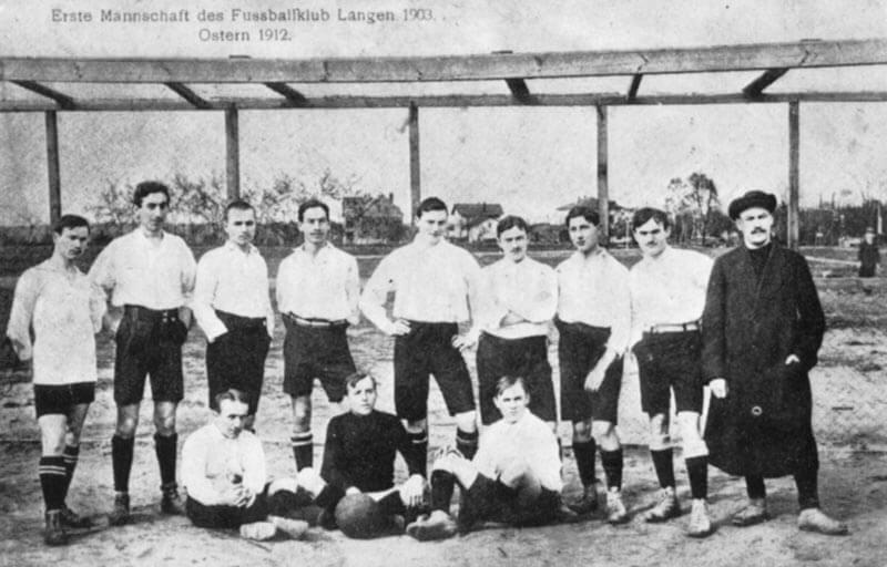 1. Mannschaft FC Langen Saison 1912