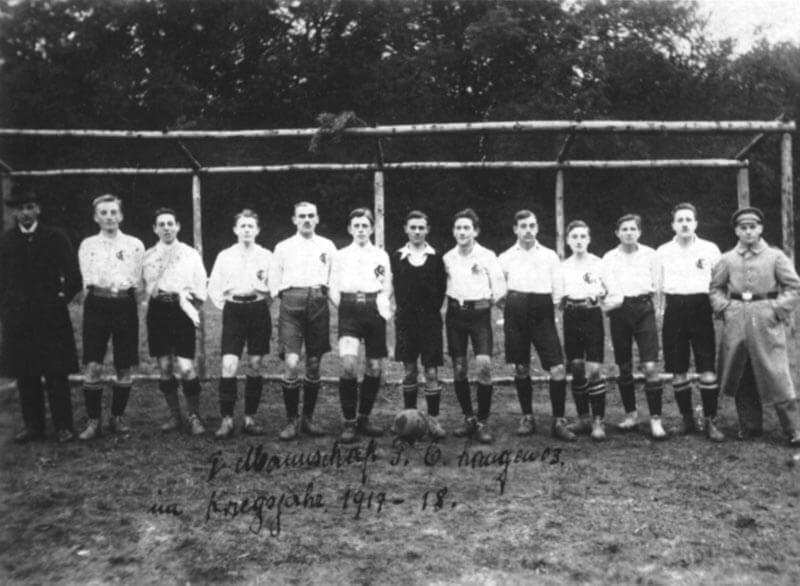 1. Mannschaft FC Langen Saison 1917-1918