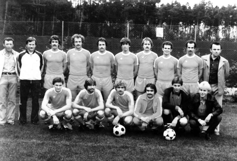 1. Mannschaft FC Langen Saison 1981-1982