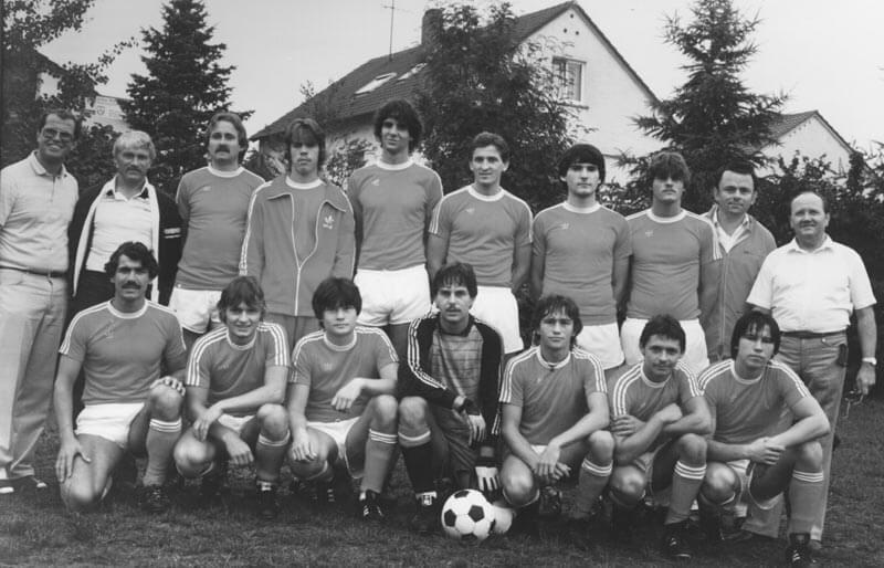 1. Mannschaft FC Langen Saison 1982-1983
