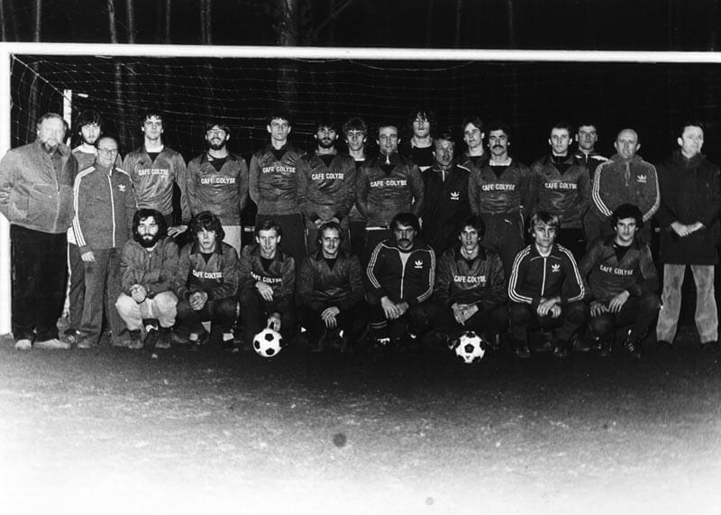 1. Mannschaft FC Langen Saison 1984-1985