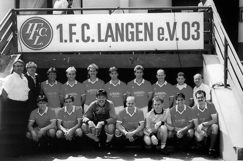 1. Mannschaft FC Langen Saison 1987-1988