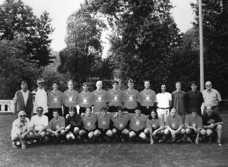 1. Mannschaft FC Langen Saison 1995-1996