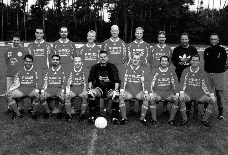 2. Mannschaft FC Langen Saison 2000-2001