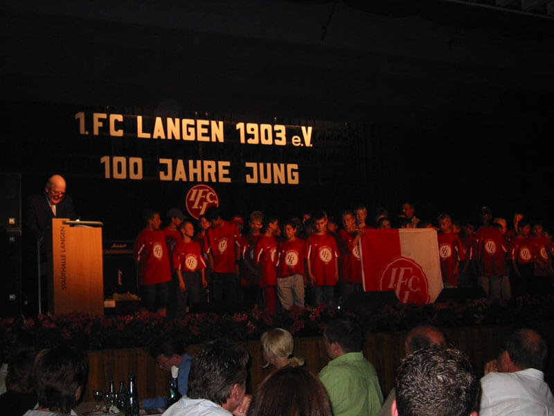 Akademische Feier FC Langen 2003