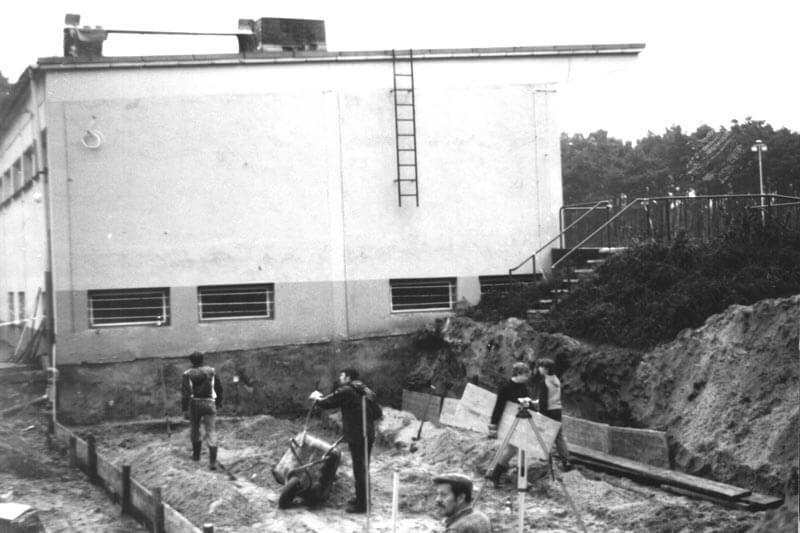 Bau Des Jugendhauses FC Langen 1981