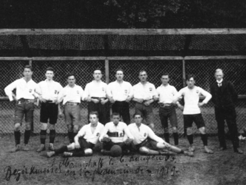 Bezirksmeister Der Vorfriedensrunde-FC Langen 1919-1920