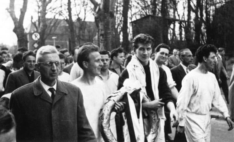 Bezirksmeisterschaft FC Langen 1957
