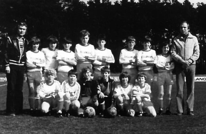 D1 Jugend FC Langen Bezirksmeister 1981 Suedhessen