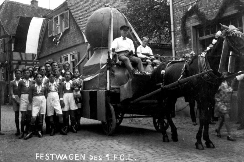 Festwagen FC Langen 1928