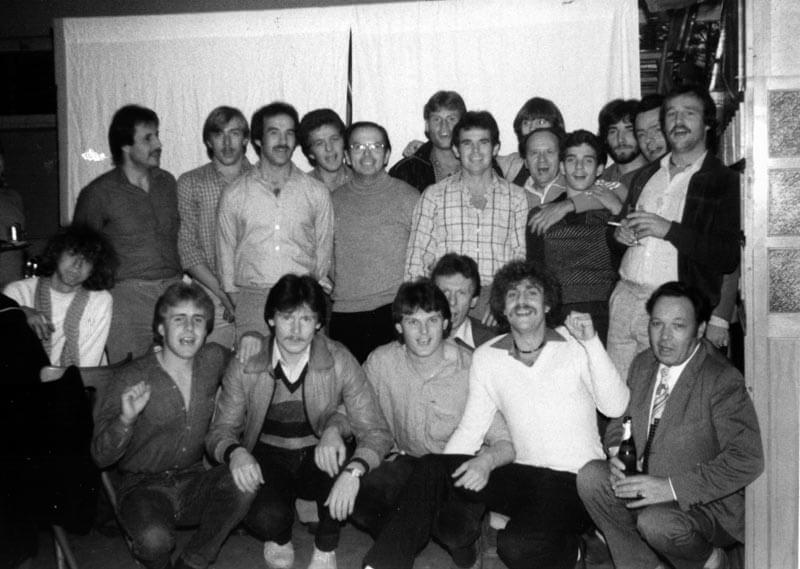 Meisterfeier FC Langen Saison 1979-1980