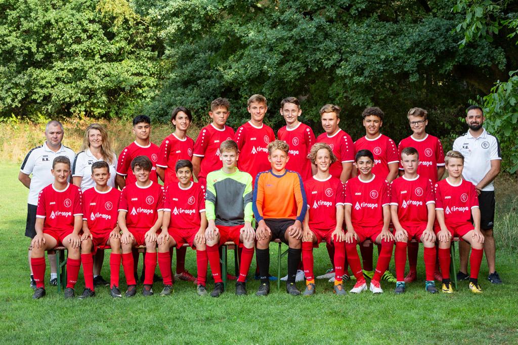 1. FC Langen B2-Junioren 2018/2019
