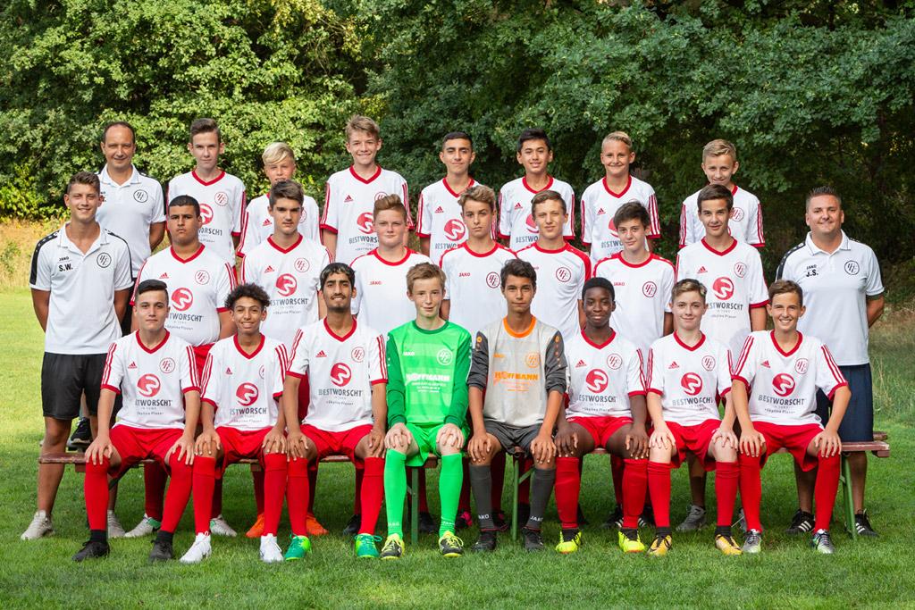 1. FC Langen C1-Junioren 2018/2019