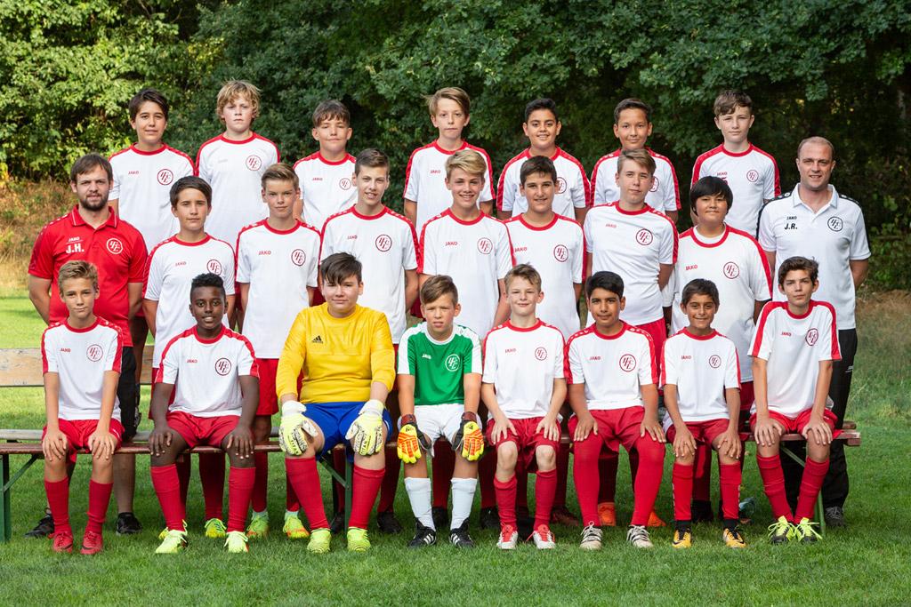 1. FC Langen C3-Junioren 2018/2019