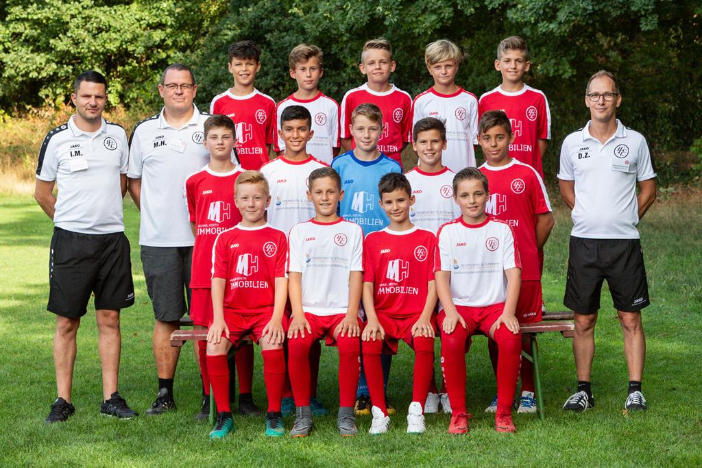 1. FC Langen D1-Junioren 2018/2019