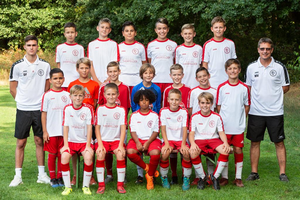 1. FC Langen D2-Junioren 2018/2019