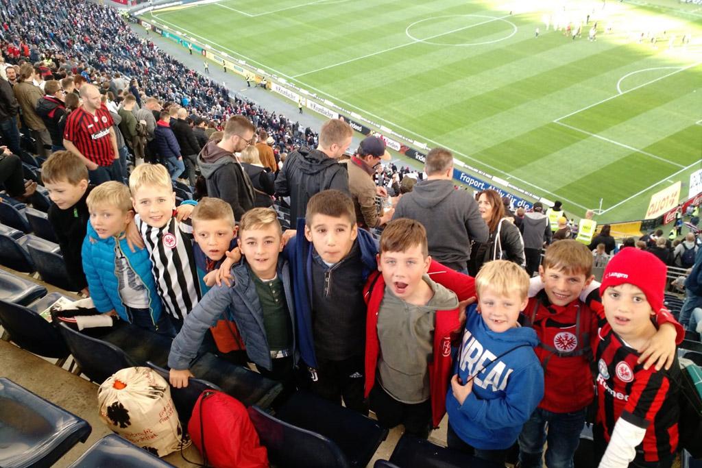 F1 des 1. FC Langen zu Gast bei Eintracht-Heimspiel