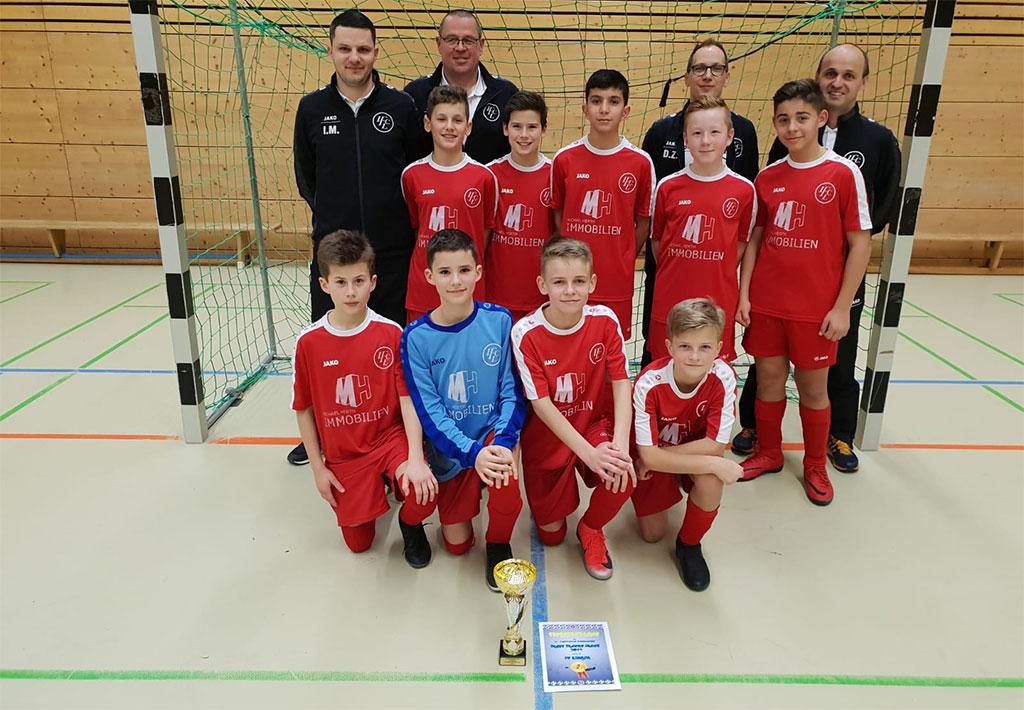 D1 Zweiter Beim Hallenturnier Des FC Stierstadt