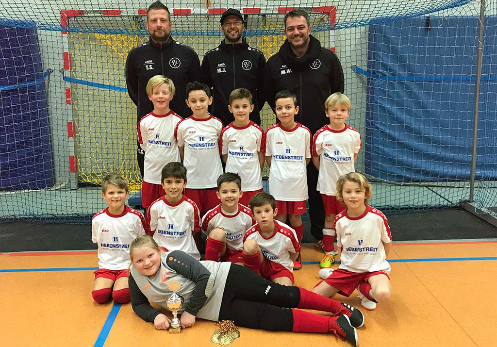 F2 Des 1. FC Langen Triumphiert Auch Beim Hallenturnier In Egelsbach