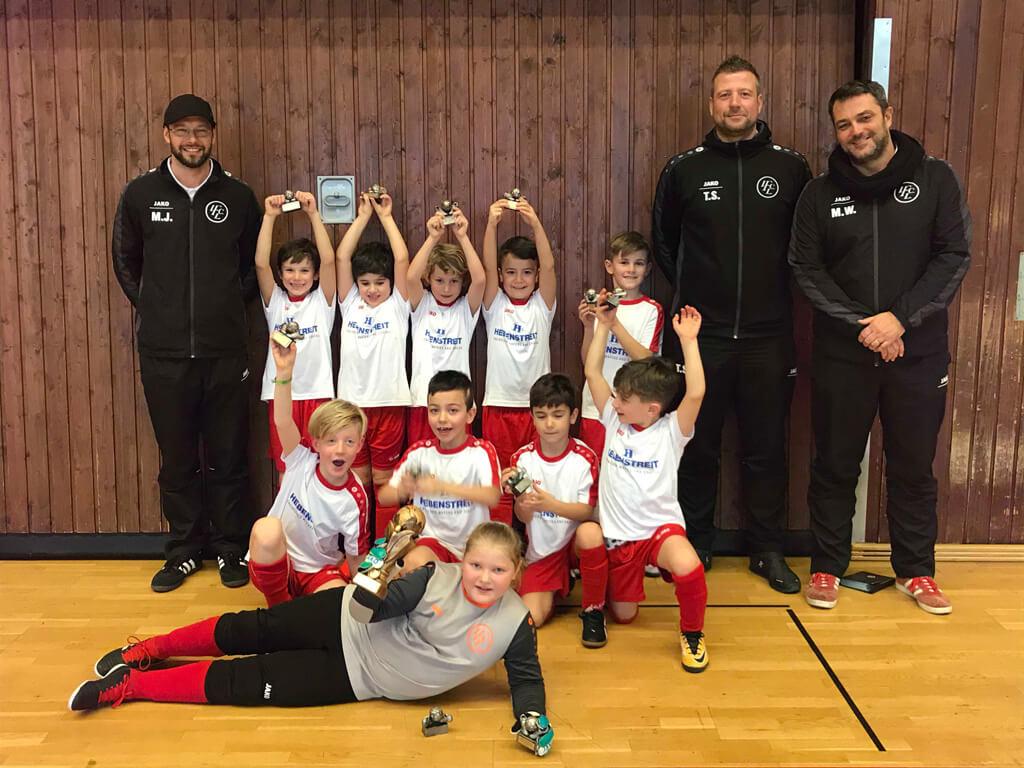 Die F2 Des 1. FC Langen Holte Sich Souverän Den Turniersieg In Neu-Isenburg