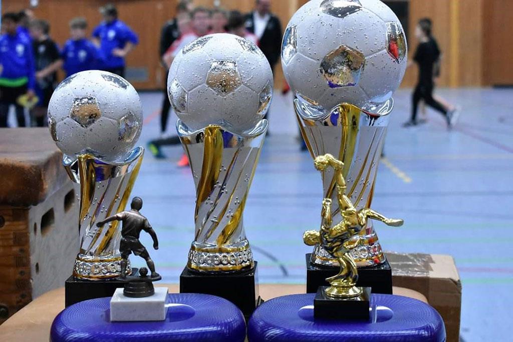 D1-Turnier Der SG Schimborn - Die Pokale
