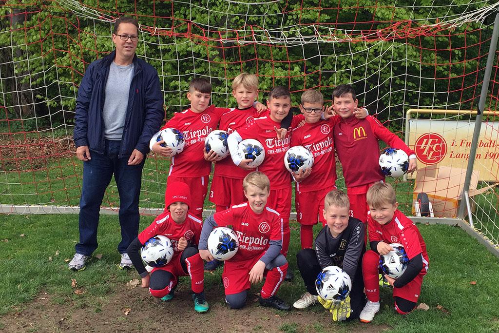 Prof. Dr. Jan Werner Sponsort Die F1 Des 1. FC Langen