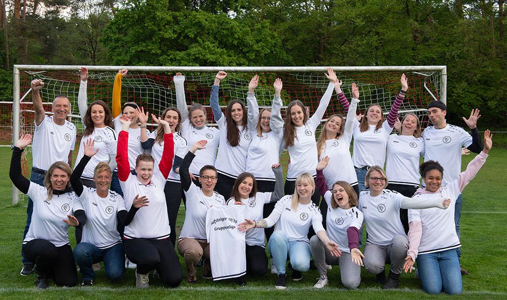 1. FC Langen Damen in Gruppenliga aufgestiegen