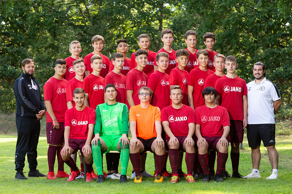 1. FC Langen B2-Junioren 2019/2020