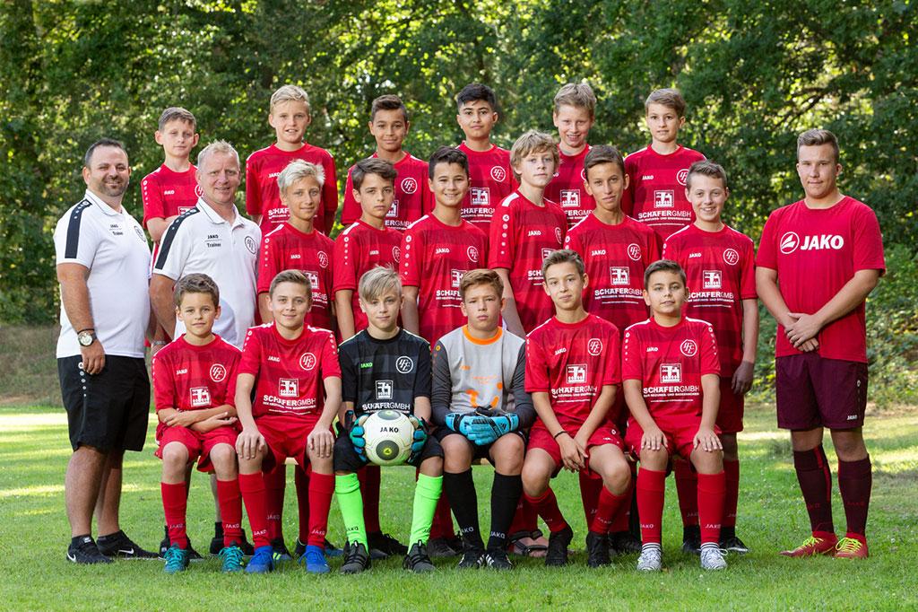 1. FC Langen C3-Junioren 2019/2020