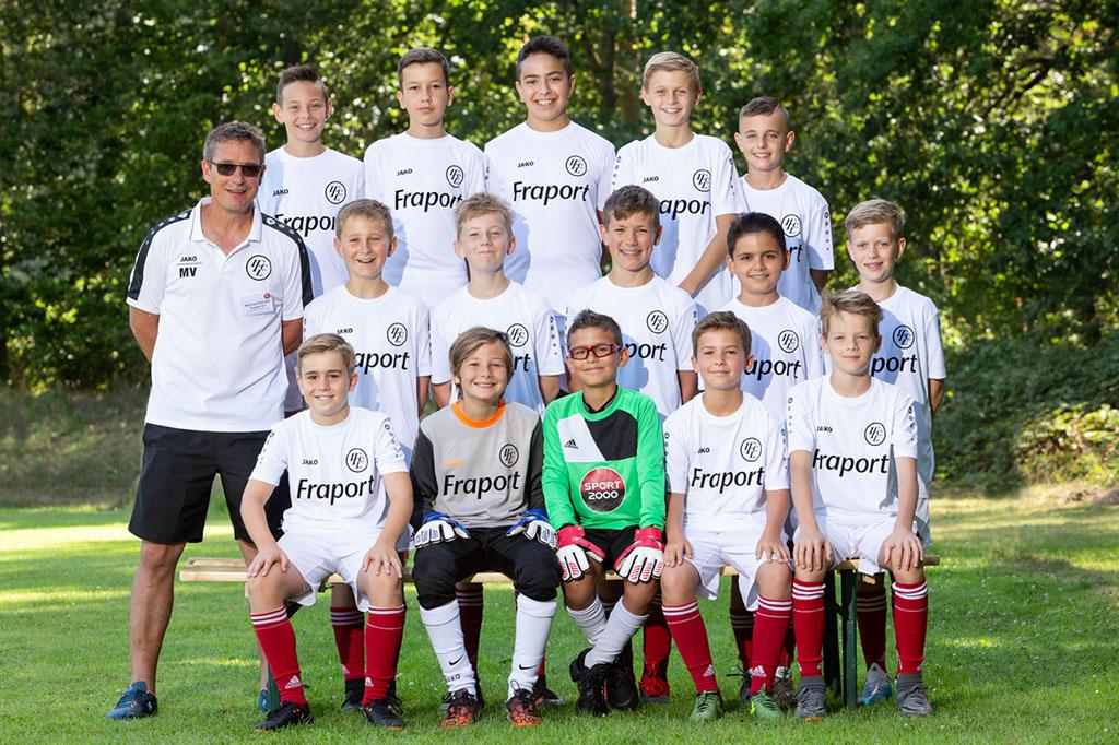 1. FC Langen D1-Junioren 2019/2020