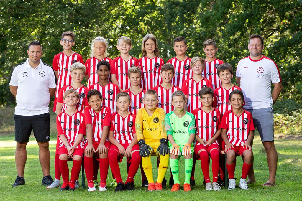 1. FC Langen D2-Junioren 2019/2020