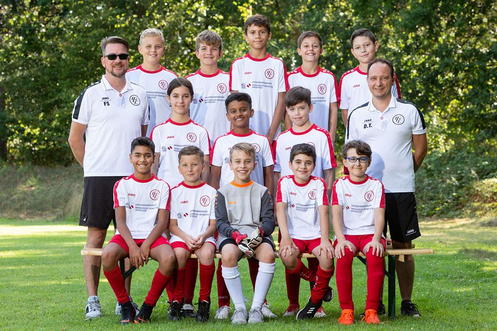 1. FC Langen D4-Junioren 2019/2020