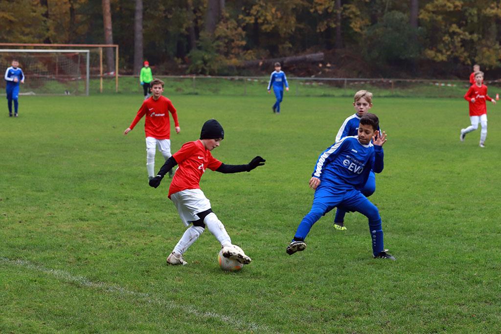 Die D1 Des 1. FC Langen Konnte Ihr Heimspiel Souverän Gewinnen.