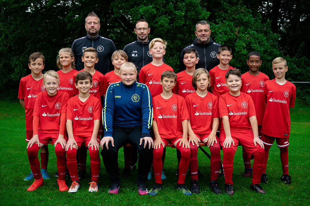 1. FC Langen E1-Junioren 2021/2022