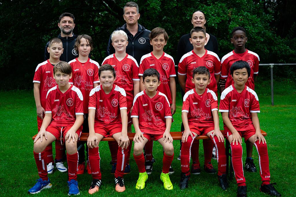 1. FC Langen E3-Junioren 2021/2022
