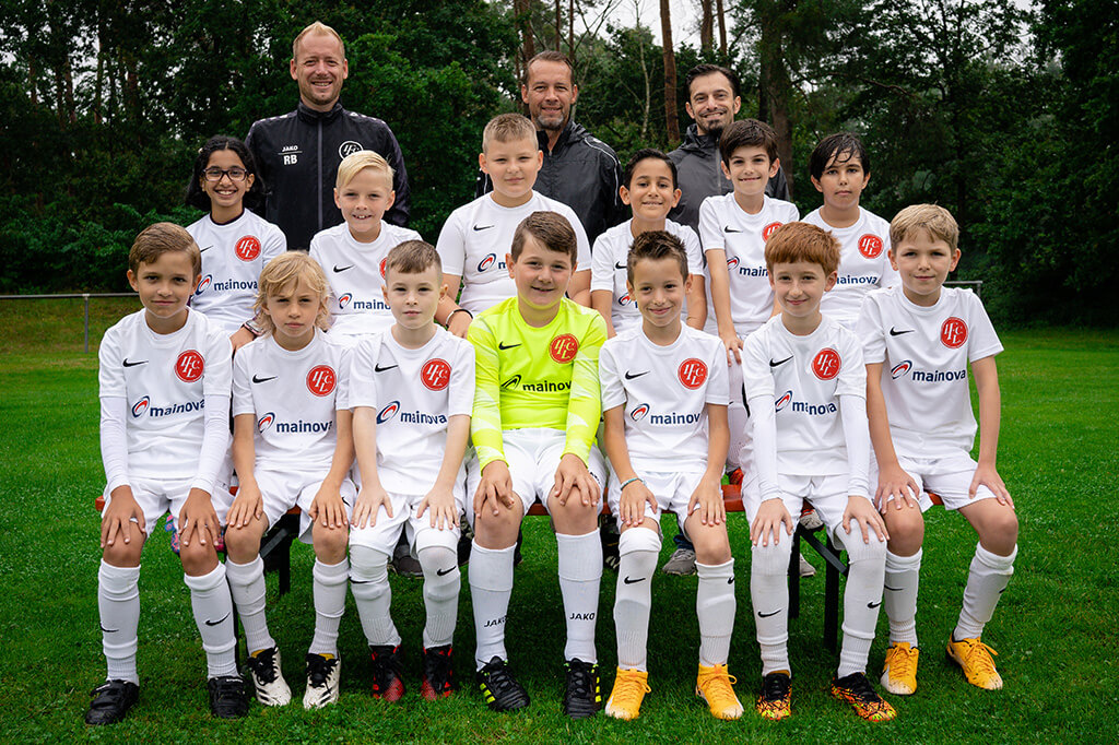 1. FC Langen E4-Junioren 2021/2022